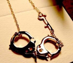 [grxjy5100076]interesting handcuffs necklace